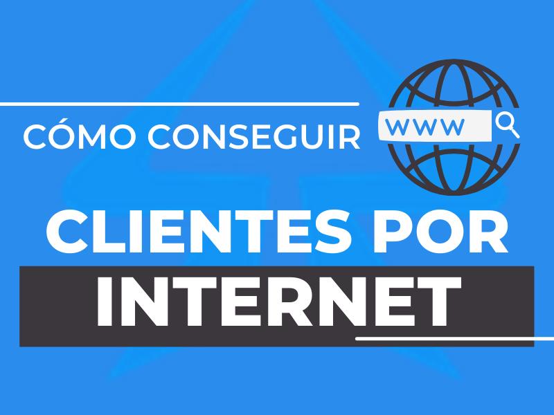 clientes por internet