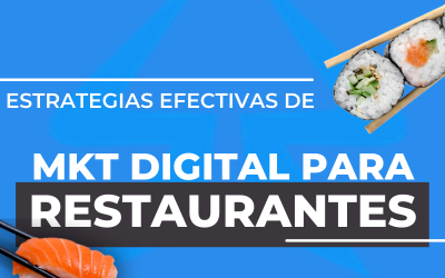 Estrategias efectivas de Marketing digital para restaurantes